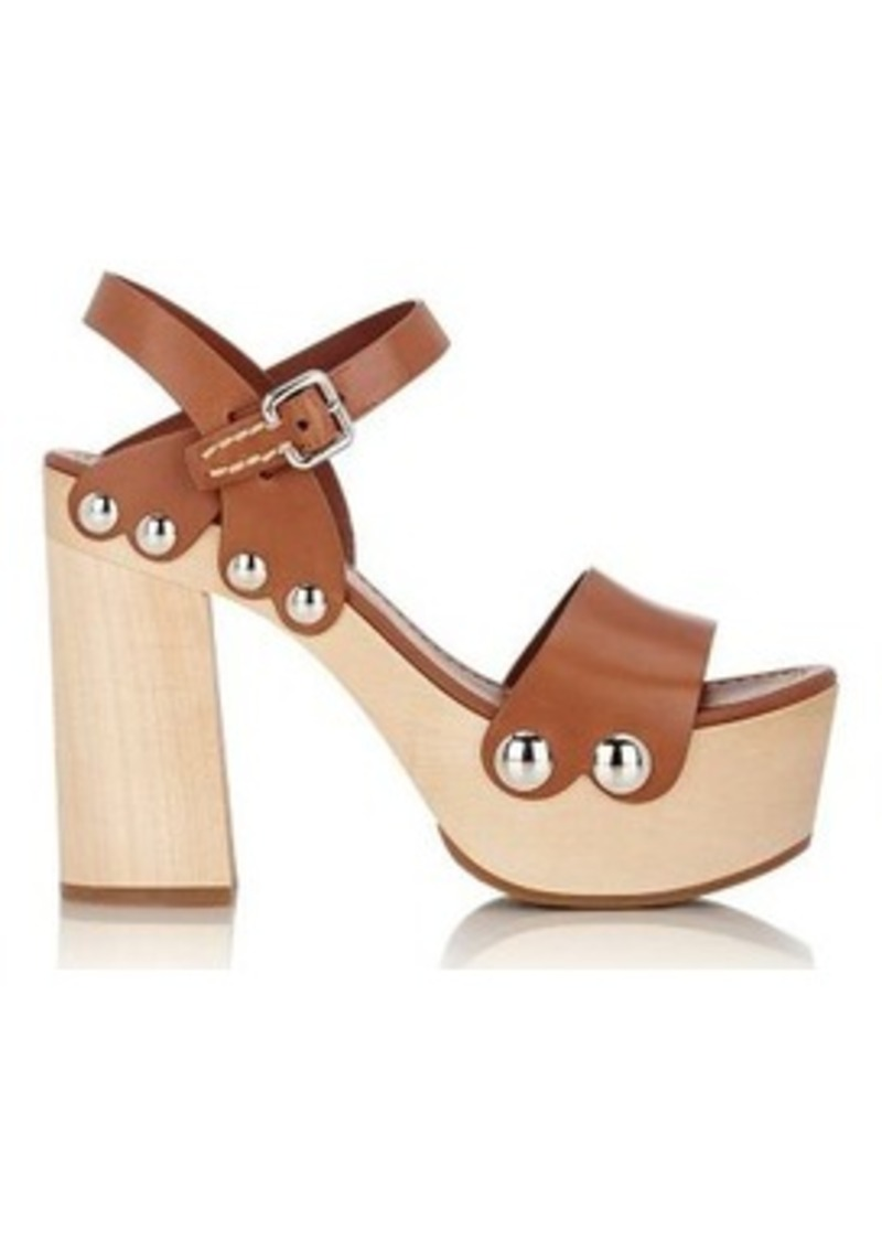 450b68569 Prada Prada Women s Ankle-Strap Clog Sandals