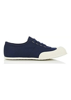 Prada Women's Cap-Toe Twill Sneakers