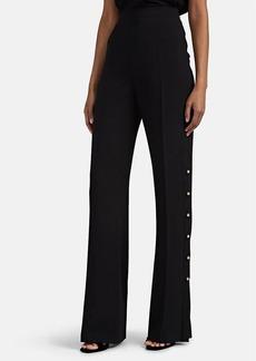 Prada Women's Crystal-Button Flared Pants