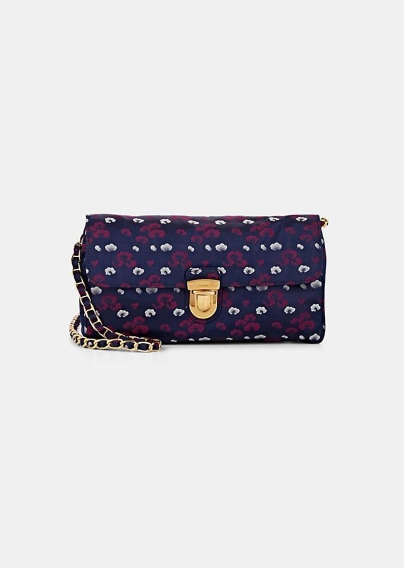 c1fa6838ed5 Prada Prada Women's Donna Floral Print Shoulder Bag - Purple | Handbags