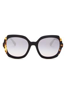 Prada Women's Etiquette Square Sunglasses, 54mm