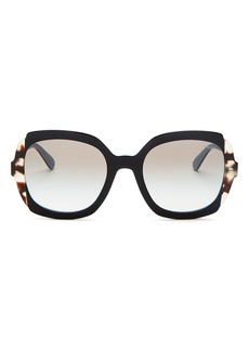 Prada Women's Etiquette Square Sunglasses, 54mm