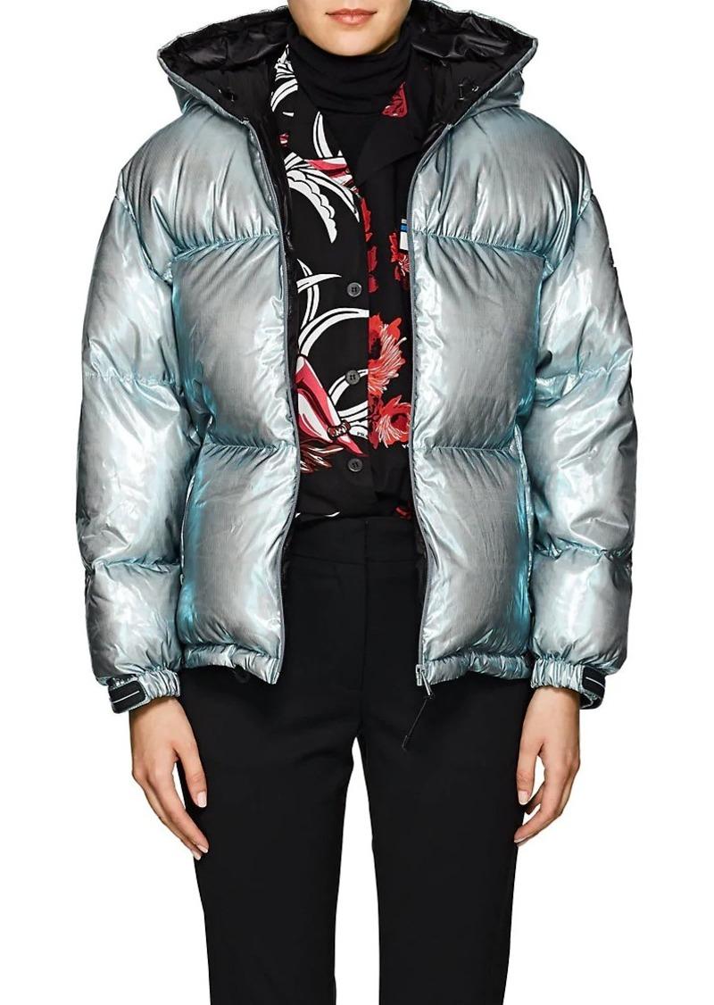 8b0d65a602 Prada Prada Women's Holographic Hooded Down Puffer Jacket   Outerwear