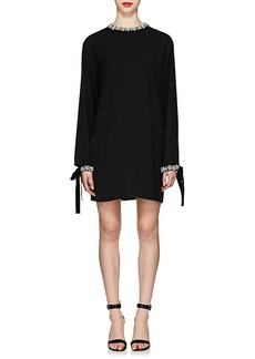 Prada Women's Jeweled Tech-Cady Cocktail Dress