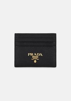 Prada Women's Leather Card Case - Black