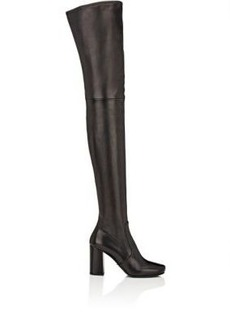 Prada Women's Leather Over-The-Knee Boots