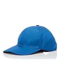 Prada Women's Logo Twill Baseball Cap