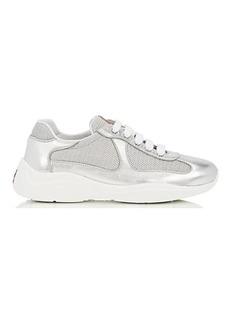 Prada Women's Mixed-Material Sneakers