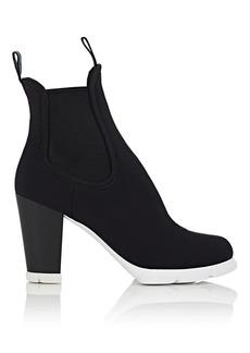 Prada Women's Neoprene Chelsea Ankle Boots