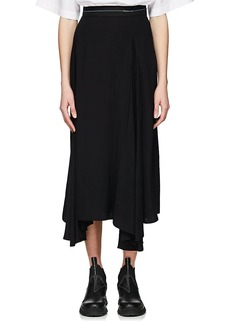 Prada Women's Pleated Godet Skirt