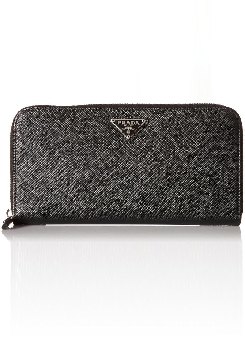 98c359dff88b Prada Prada Women s Saffiano Continental Wallet 1ml506qhhf0632 ...