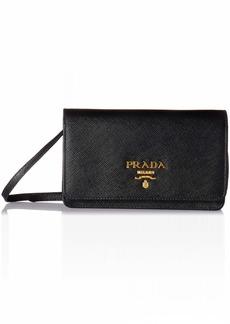Prada Women's Saffiano Wallet 1bp007toonzvf0002