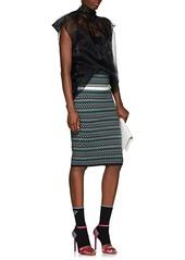14b623028257d1 Prada Women s Silk Organza Tieneck Blouse Prada Women s Silk Organza  Tieneck Blouse