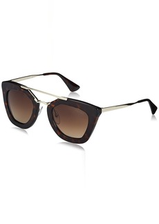 Prada Women's SPR09Q Cinema Sunglasses  49mm