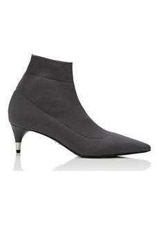 Prada Women's Stretch-Knit Ankle Boots