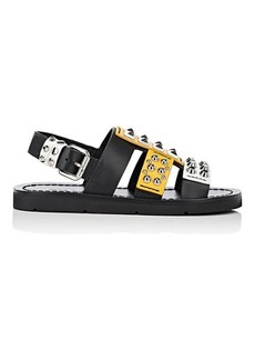 Prada Women's Studded Leather Sandals