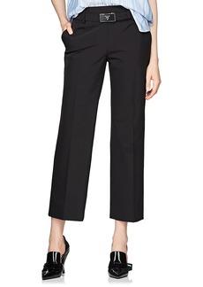 Prada Women's Tech-Twill Crop Trousers