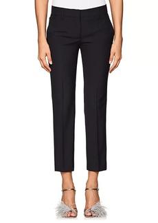 Prada Women's Virgin Wool Slim Ankle Trousers