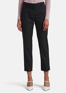 Prada Women's Worsted Wool Crop Pants