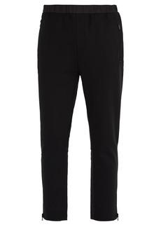 Prada Zip-hem jersey track pants