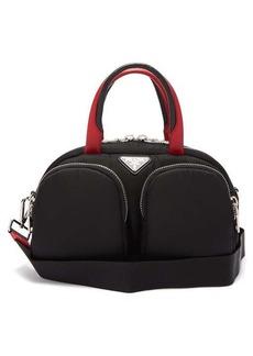 Prada Zip-pocket bowling bag