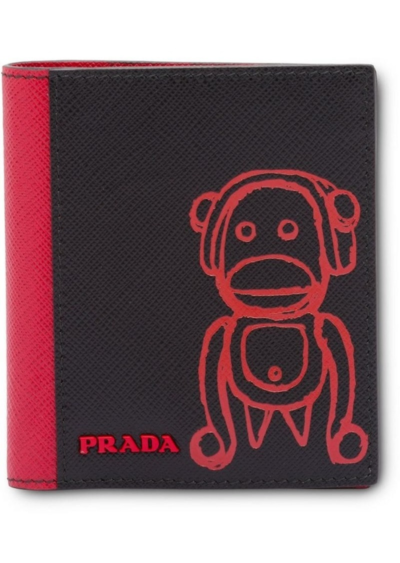 7e4ebccfa8e0 Prada Pradamalia monkey wallet   Misc Accessories