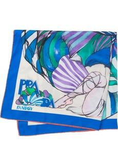 Prada printed foulard