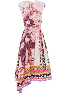Prada printed poplin dress