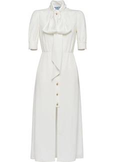 Prada pussybow blouse dress