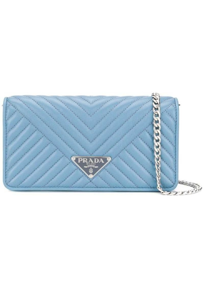 quilted mini crossbody bag