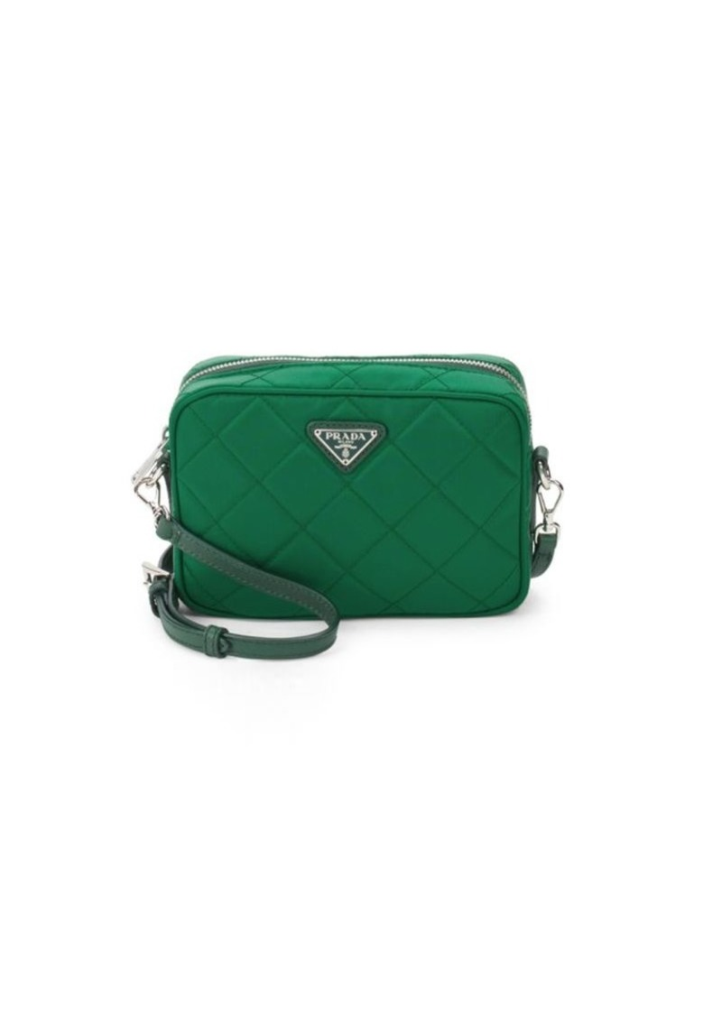 26166a22e5cca On Sale today! Prada Quilted Nylon Crossbody Bag