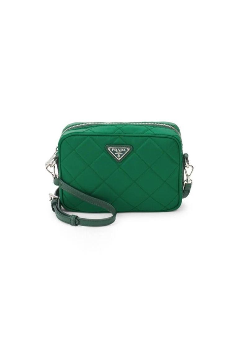 6ba6d7c790fe On Sale today! Prada Quilted Nylon Crossbody Bag