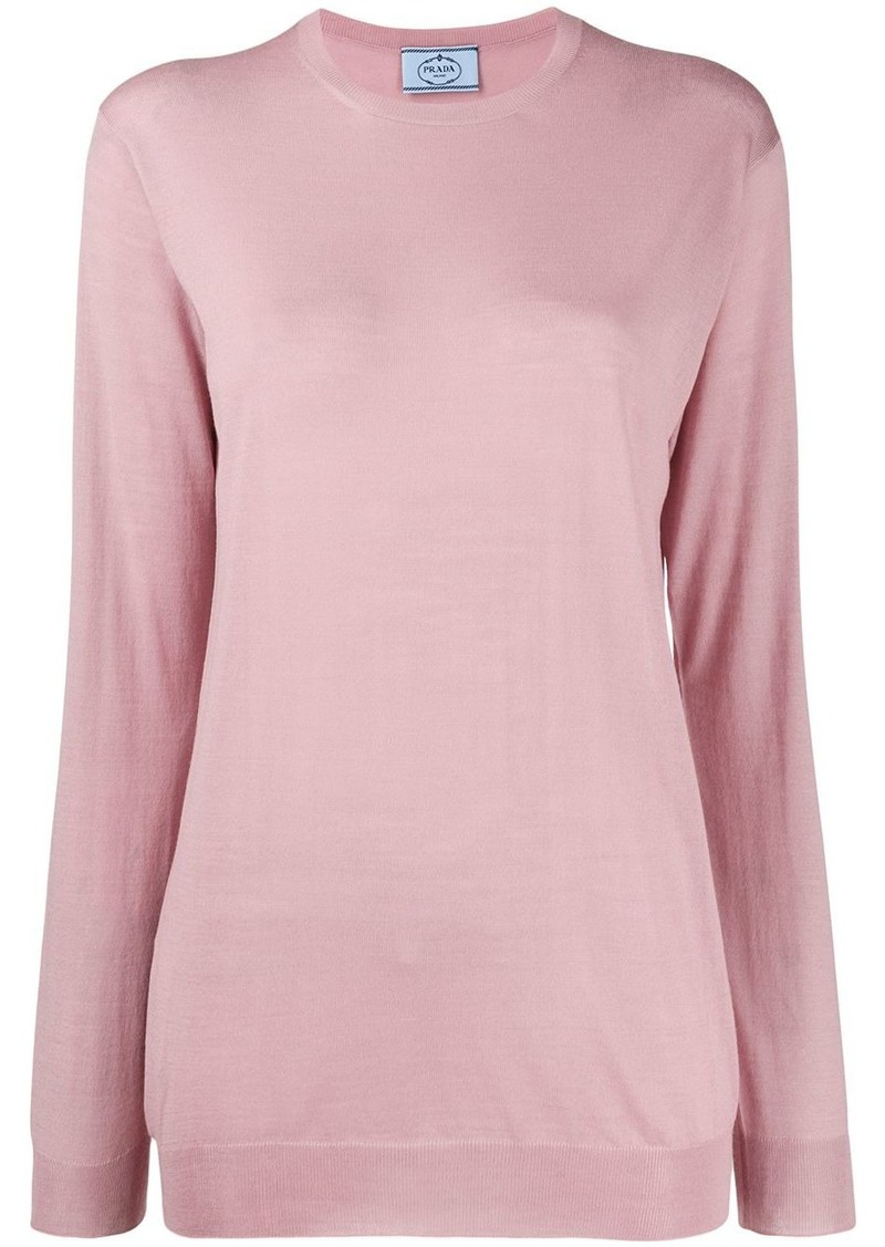 Prada relaxed fit jumper