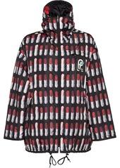 Prada Reversible feather nylon caban jacket