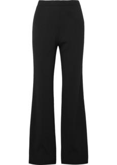 Prada Ribbed-knit Wide-leg Pants