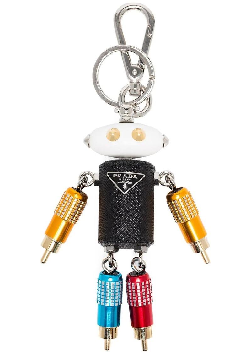 Prada robot bag charm
