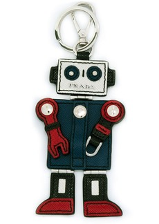 Prada robot charm keyring
