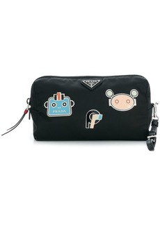 Prada robot makeup bag