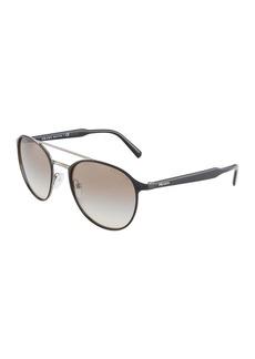 Prada Round Metal Sunglasses