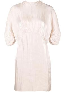 Prada ruched waist dress