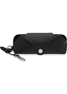 Prada lettering logo glasses case