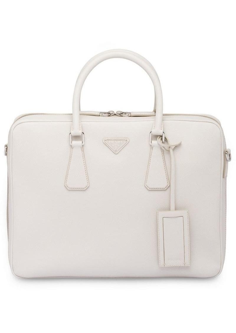 86647a6bc53a Prada Saffiano leather briefcase