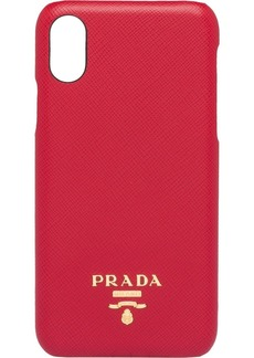 Prada Saffiano leather cover for iPhone X and XS