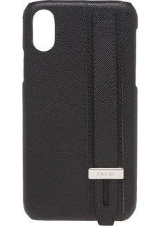 Prada Saffiano leather iPhone X cover