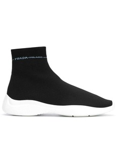 Prada scuba high top sneakers