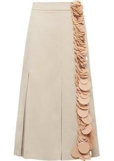 Prada sequin trim skirt