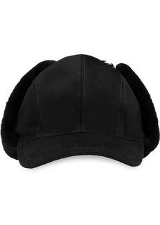 Prada shearling flap hat