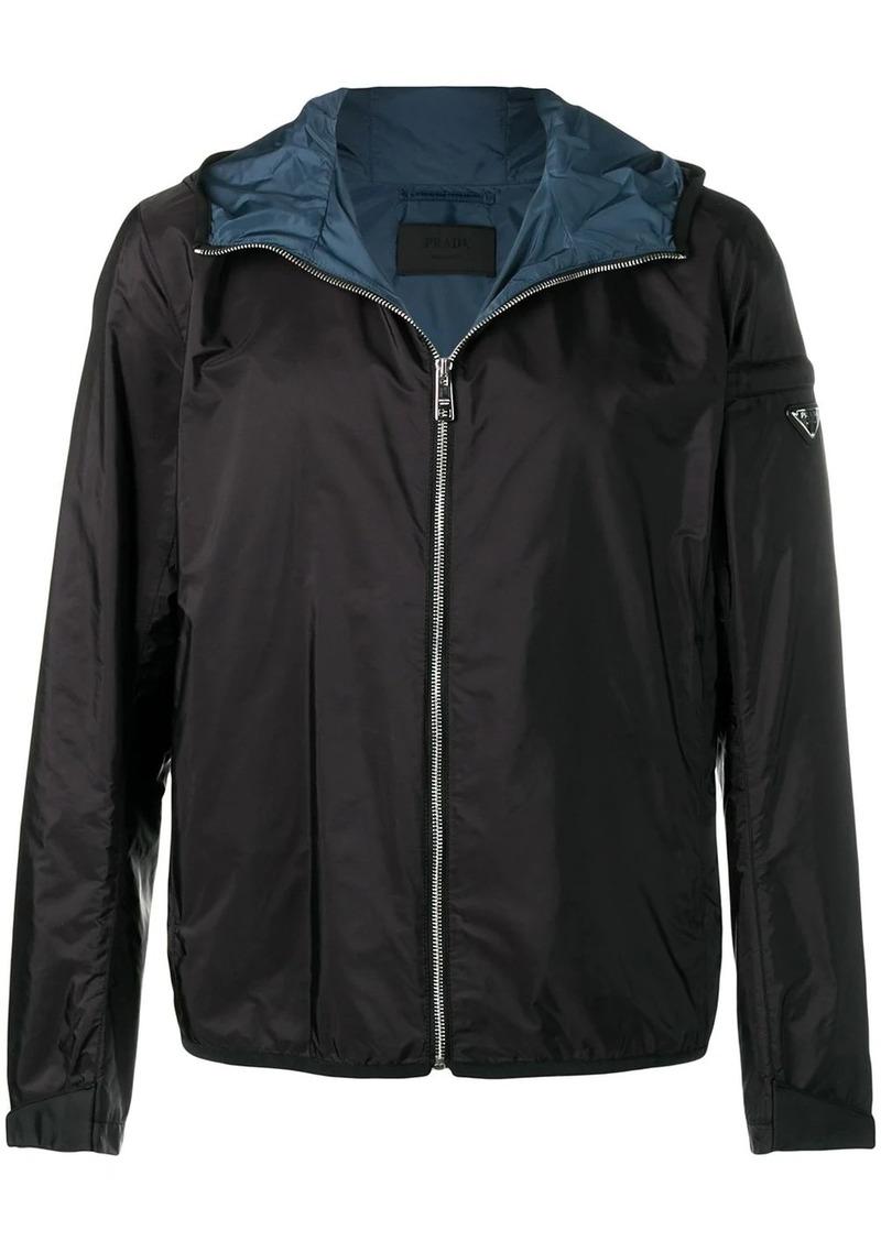 Prada shell bomber jacket