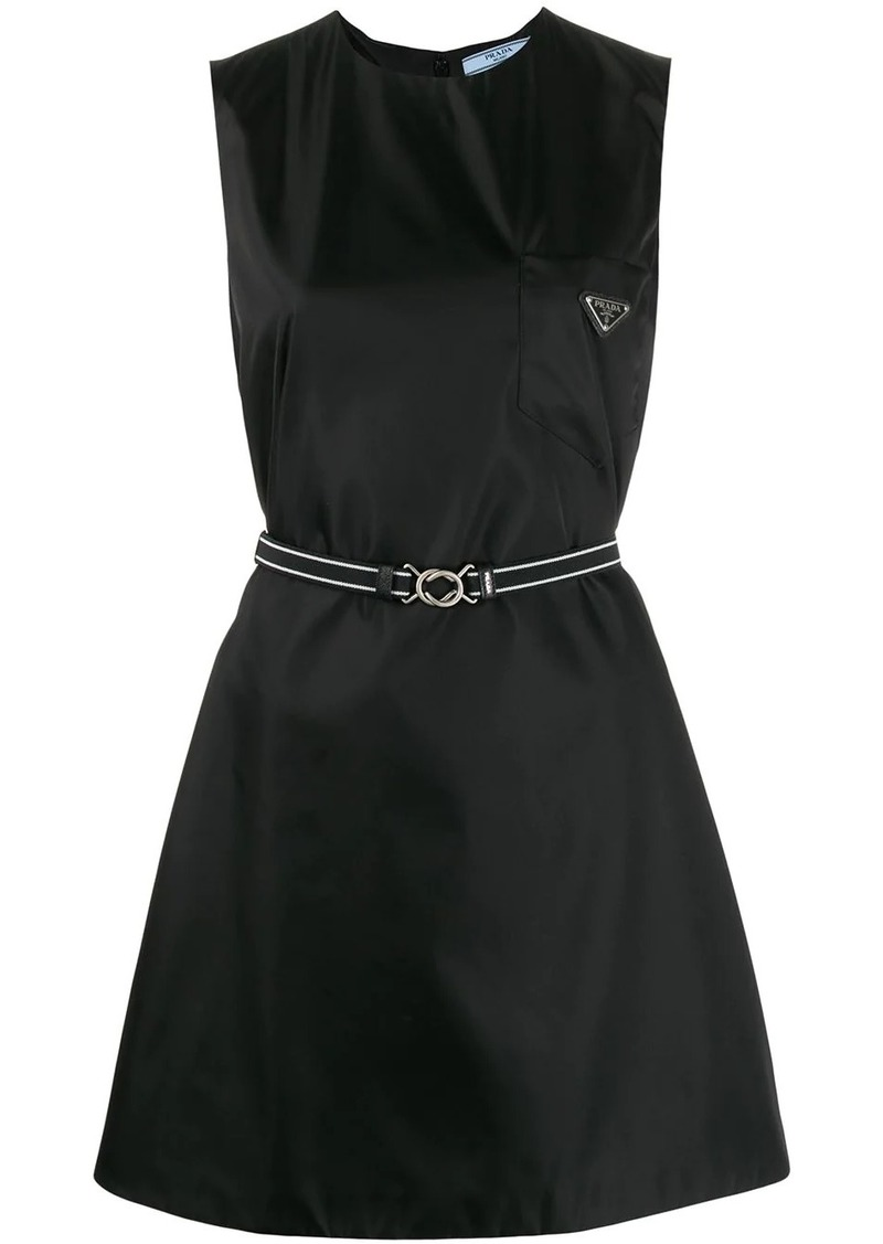 Prada short belted dress