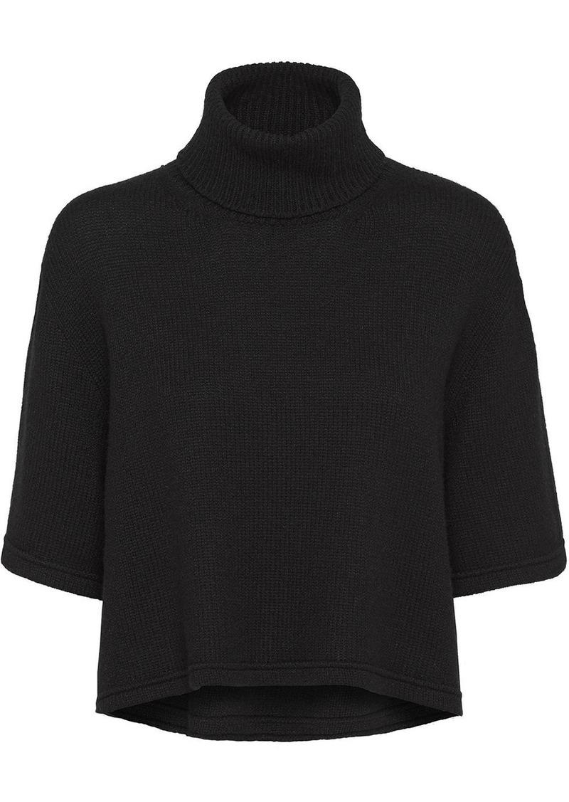Prada short-sleeved knitted jumper
